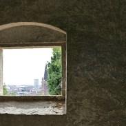 view on the way to the Belvedere, Giardino Giusti // Verona