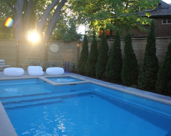 Pool installed by M.E. Contracting