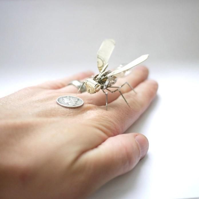 insetos mecanicos