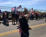 Patriot Prayer supporter