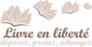 Livre ouvert logo police bon style