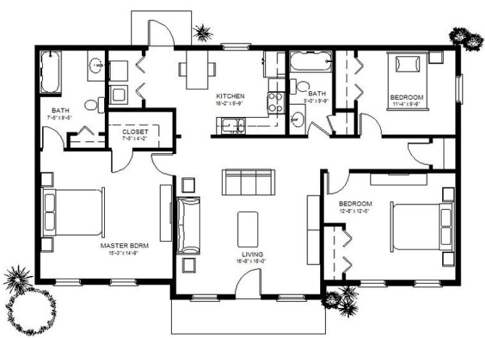 Convert Floor Plan Sketches Into CAD Drawing