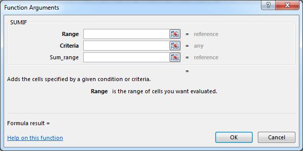 kotak dialog function argument