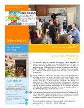 Newsletter septembre 209