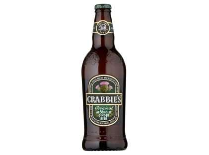 Bottle of Crabbie's Ginger Beer
