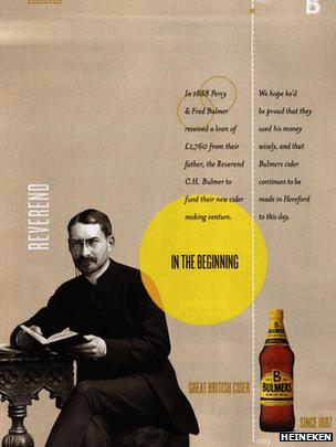 Bulmers Cider Advert