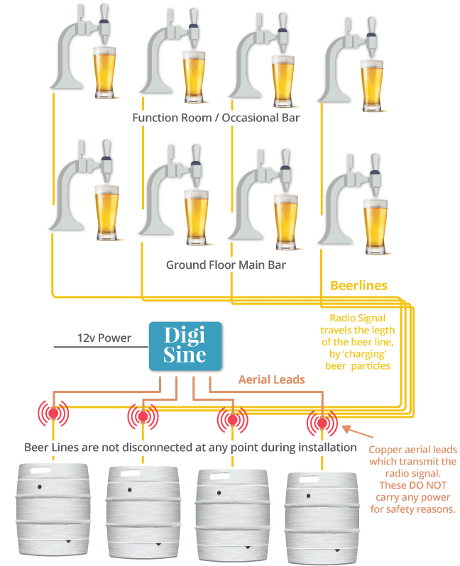 how to clean beer lines in a pub