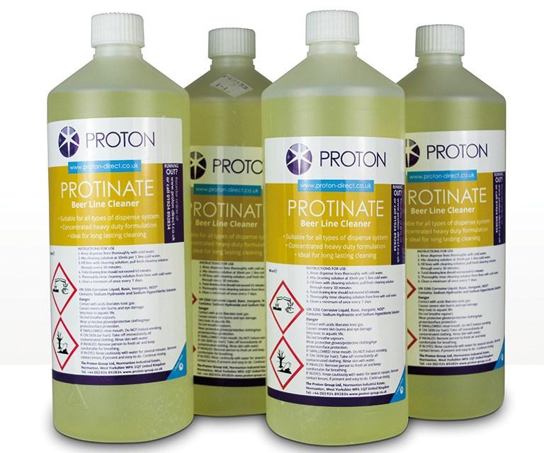 Beerline cleaning fluids & liquids