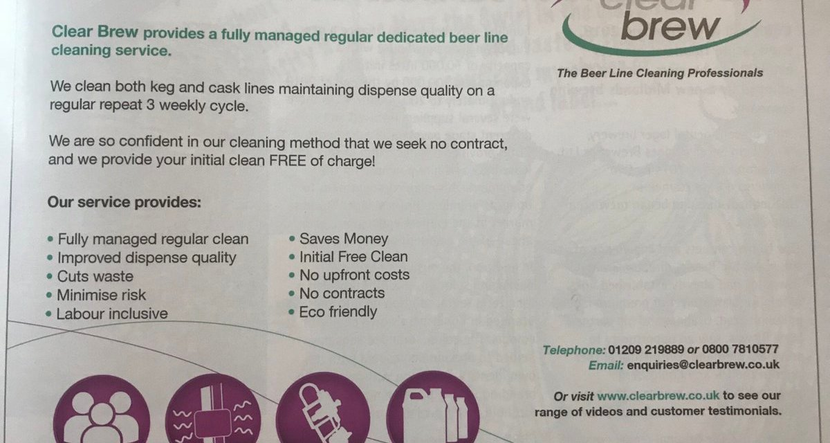 Clear Brew Beer Line Cleaning Service