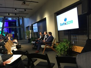 Michael Mehling of MIT CEEPR, Rod Richardson of the Grace Richardson Fund and Jeremy Harrell of ClearPath conduct a panel discussion during the Energy Conference at EarthX 2019 in Dallas