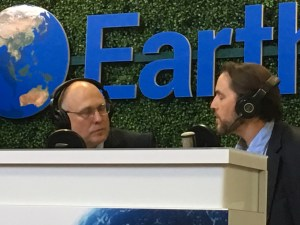 Reed Sternberg interviews Rod Richardson during EarthX 2019 podcast