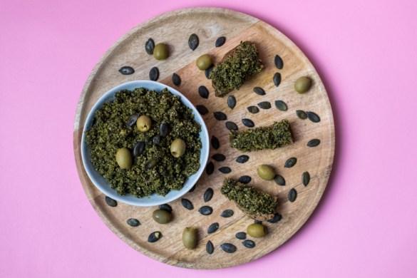 Kürbiskern – Oliven Aufstrich