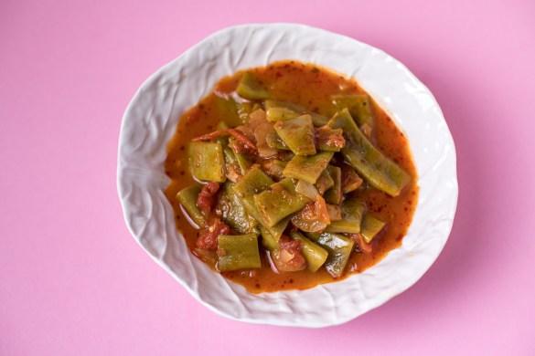 Grüne Bohnen – Tomaten Eintopf