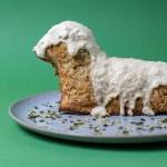 Saftiges Osterlamm aus Mandeln - Low Carb & glutenfrei