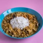 Thai Curry mit Kartoffeln, Wirsing und roter Curry Paste