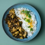 Hähnchen Curry mit Bärlauch Chutney