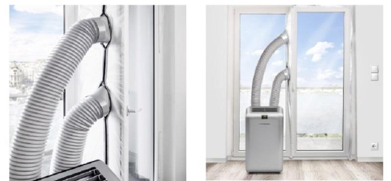 portable air conditioner pvc window