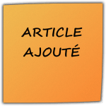 Article ajouté