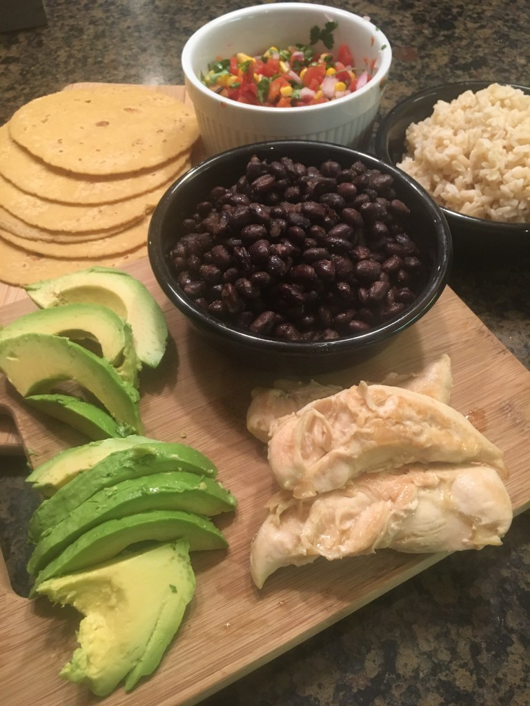 Southwestern Veggie Vegan Taco
