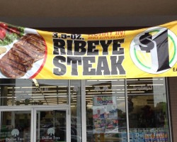 dollar tree steak