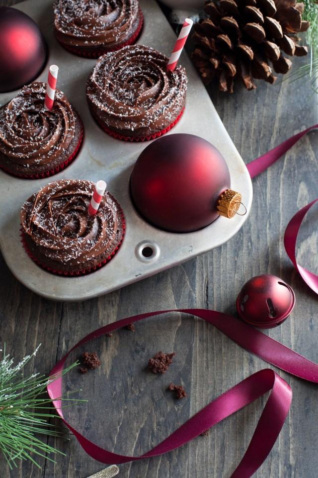 Peppermint Mocha Cupcakes 1