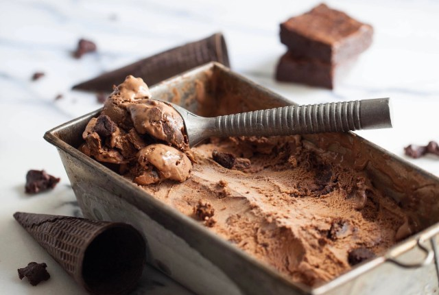 Chocolate Fudge Brownie Ice Cream