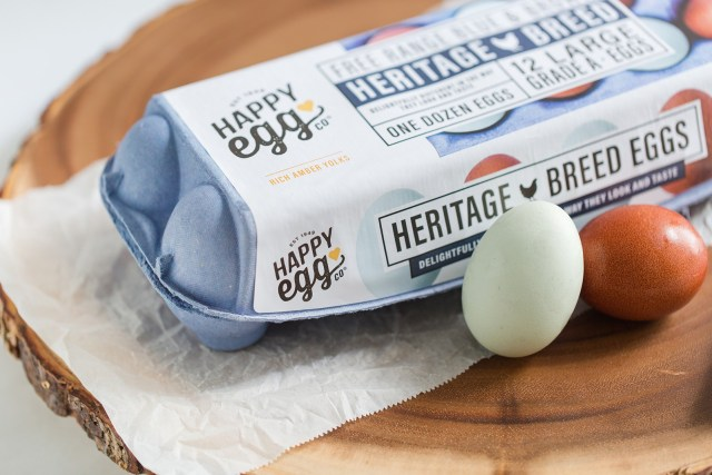 Happy Eggs Heritage Eggs