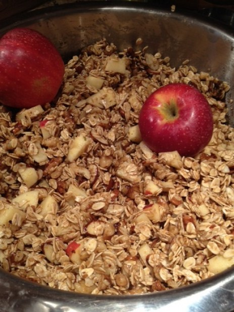Apple Pie Granola