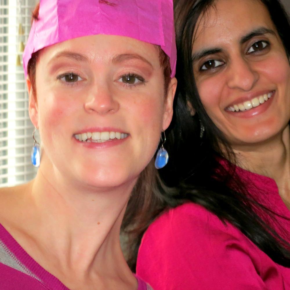 Meghan and Hunia