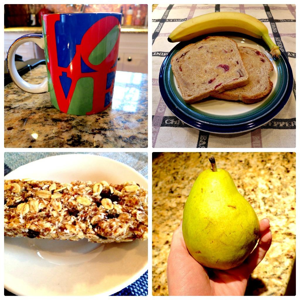 Not Sick Breakfast Collage