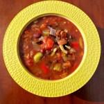 Vegetarian Three Bean Chili
