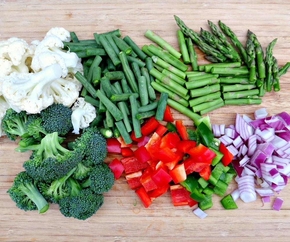 Veggie Stir Fry Fixins