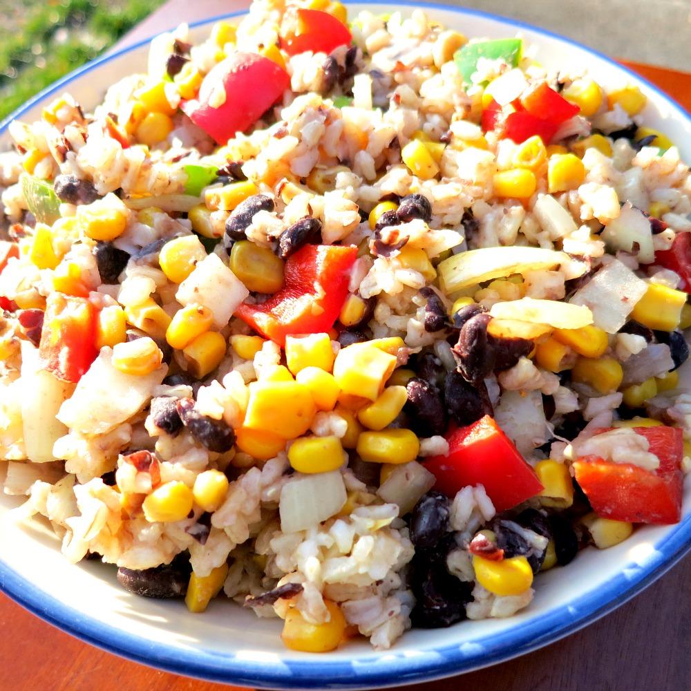 Rice and Bean Bowl 2