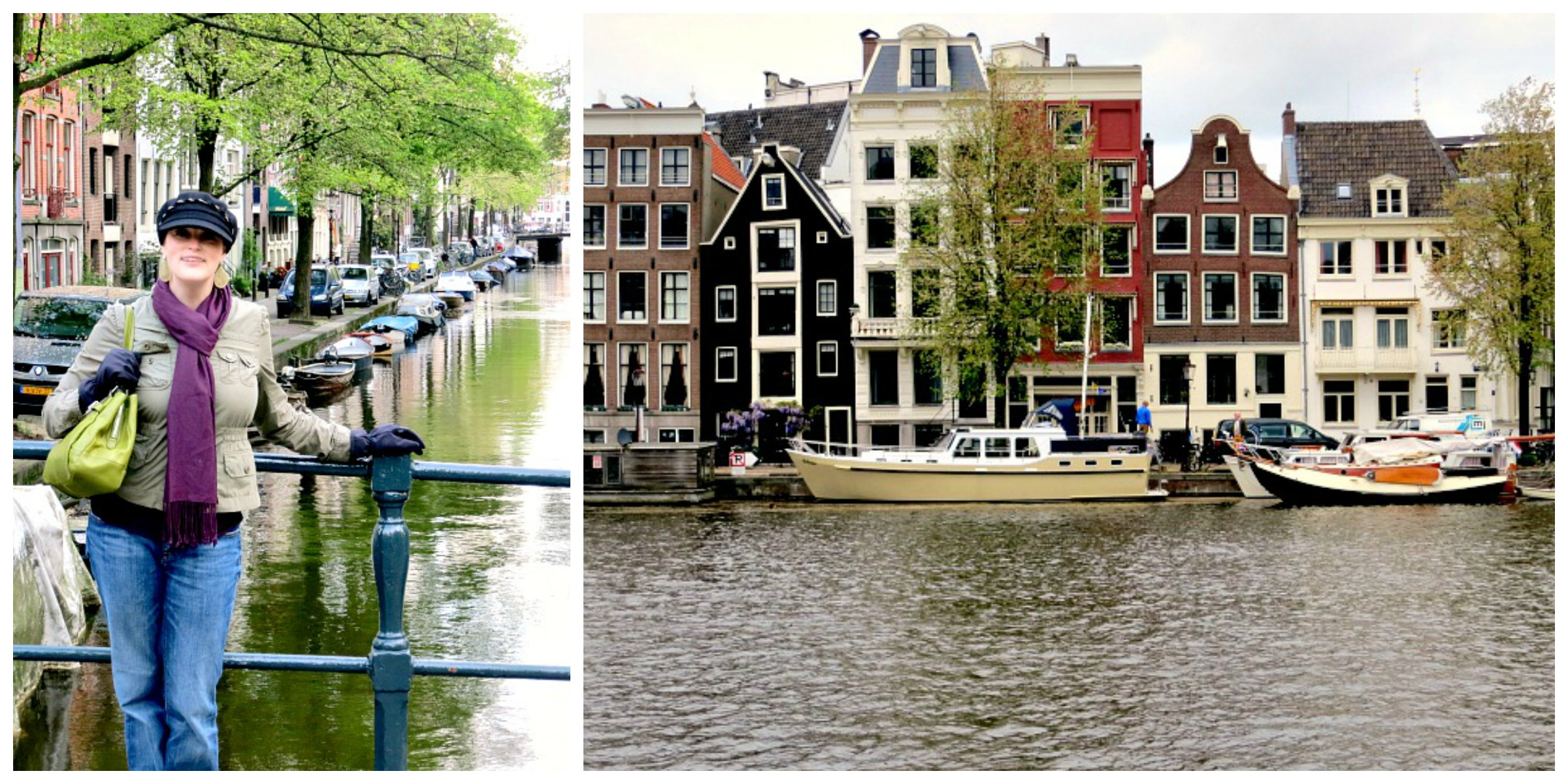 Amsterday Canal Collage