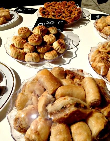 Belgium Farmers Market Dessert Pastries
