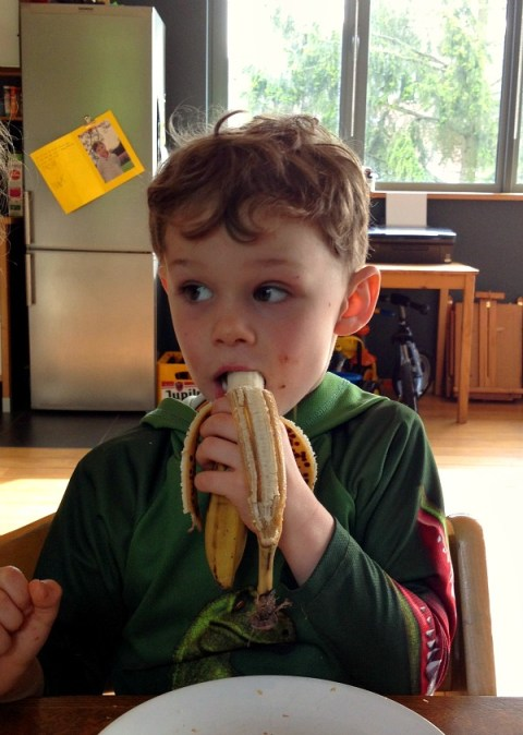 Max and the Banana