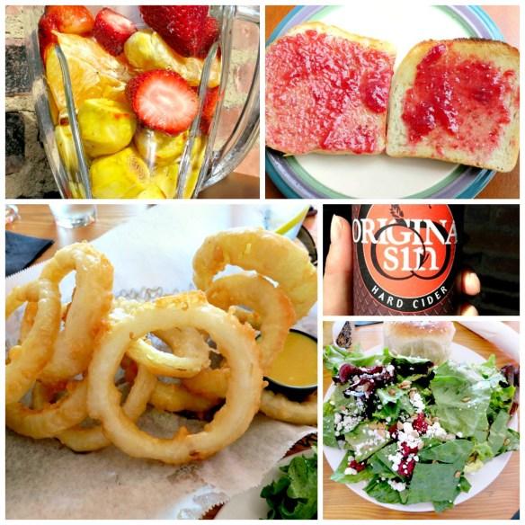 Saturday Eats Collage
