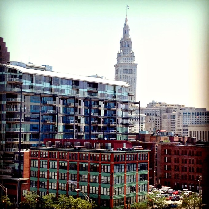 Downtown Cleveland View