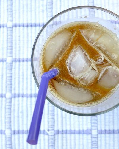 Iced Raspberry Almond Coffee