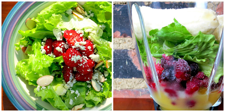 Lettuce Collage