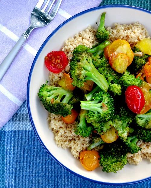 Broccoli Tomato Stiry Fry