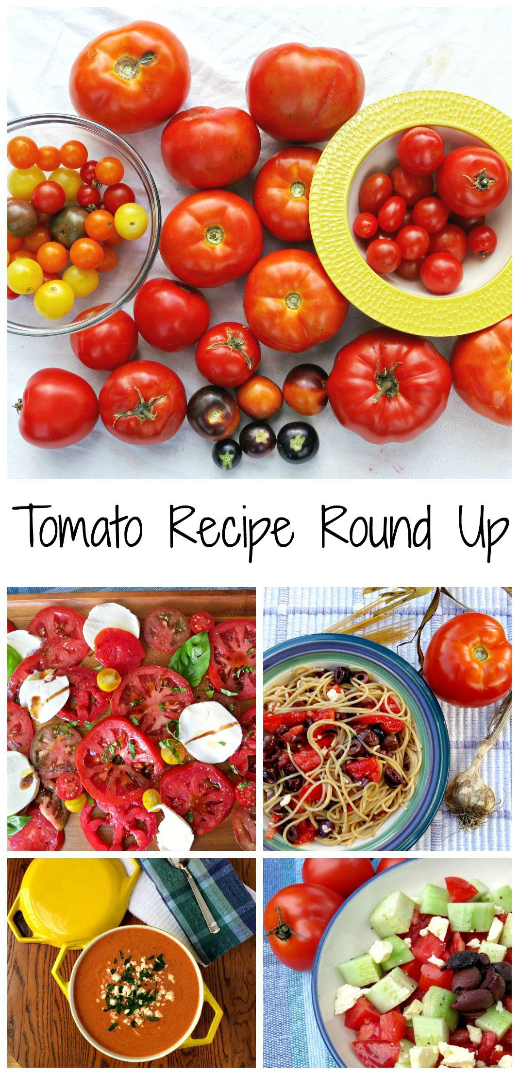 Tomato Recipe Round Up