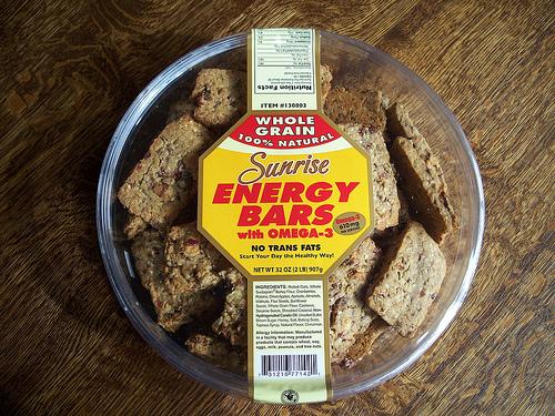 Costco Sunrise Energy Bar