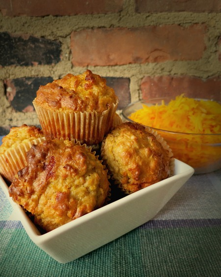 Savory Butternut Squash Muffins