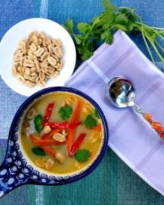 Thai Inspired Vegetable Soup