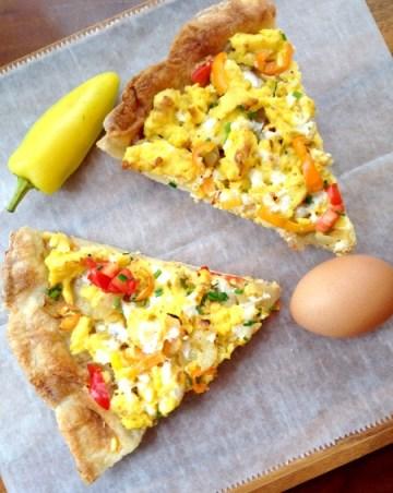 Breakfast Pizza B
