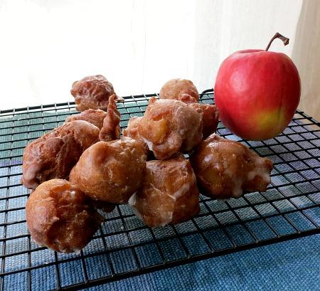 Mini Apple Fritters