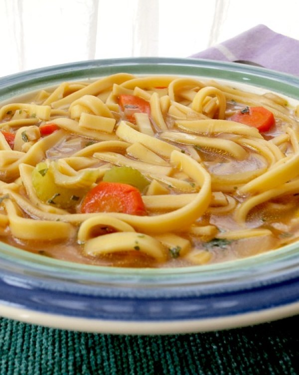 Chickenless Noodle Soup C