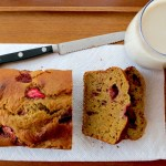 Acorn Squash Strawberry Bread