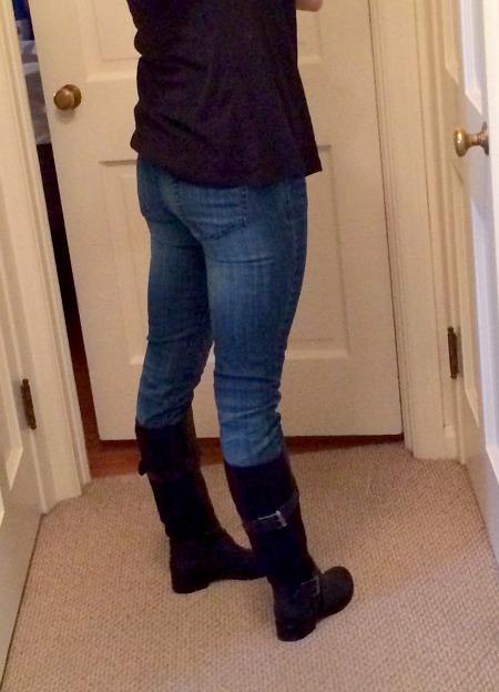 Meg's Ass in Jeans